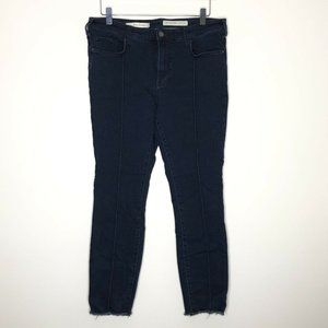 Pilcro and the Letterpress Mid Rise Skinny Jean